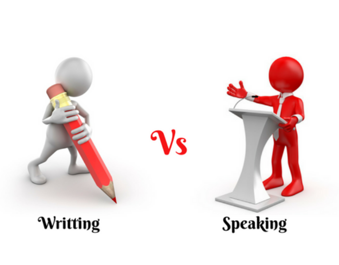 Spoken English vs Written English- basic differences one must know